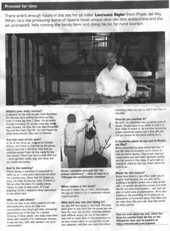 Artículo en la revista La Luz