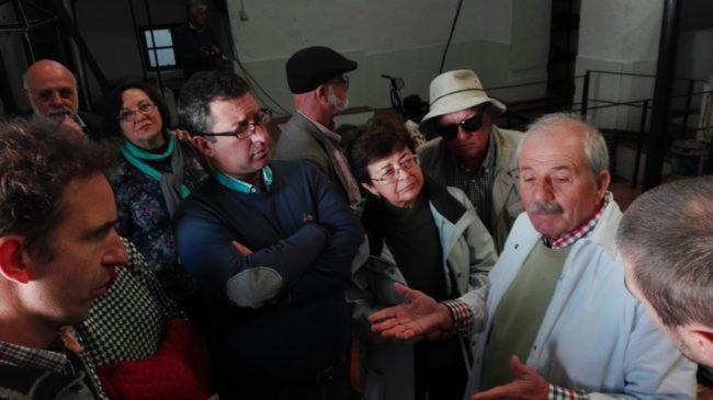 Visita guiada a los participantes en las I Jornadas de Patrimonio, Historia y Tradición del Aceite y el Vino en la Sierra de Cádiz,