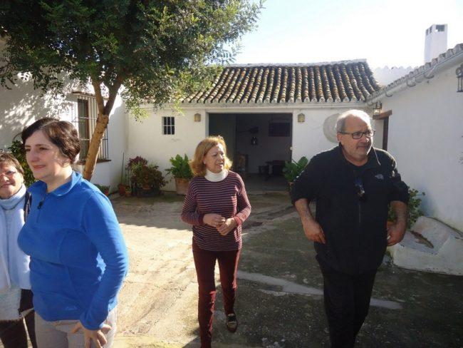 García Barbeito, en la hacienda El Callejón.